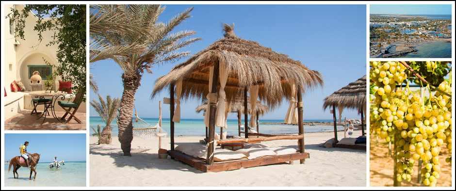 Сказочный морской курорт о. Джерба. 8 дней от 22000.