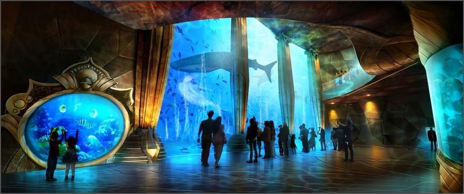 В Санье (о. Хайнань) открылся роскошный развлекательный курорт Atlantis Sanya с океанариумом и аквапарком