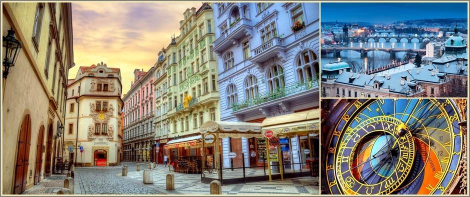 Туры в город, окутанный тайнами и легендами-Чехия. 8 дней от 23600.