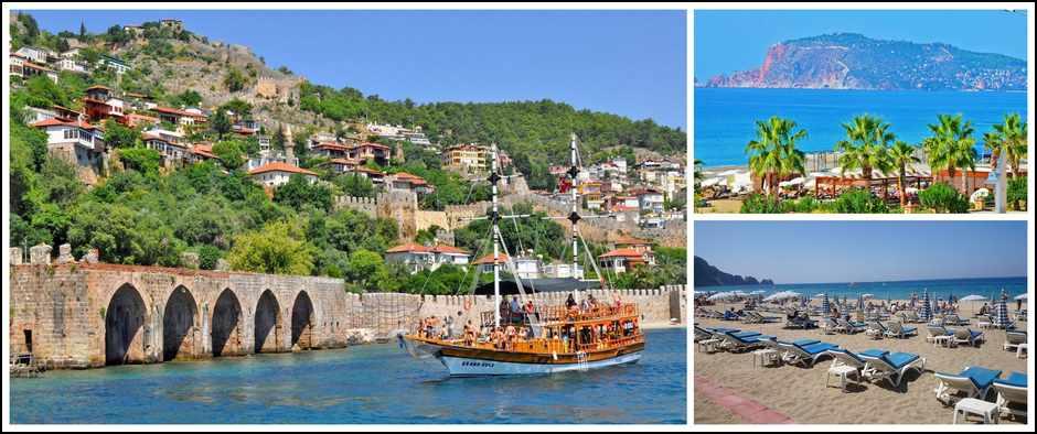 Турция всегда рада гостям. 8 дней от 13600 рублей.