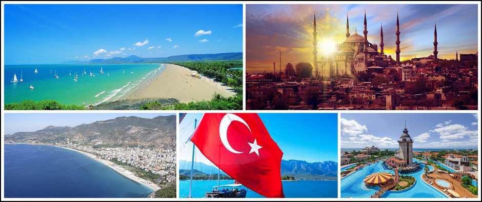 Турция, ждет только Вас. 8 дней от 17300 рублей.