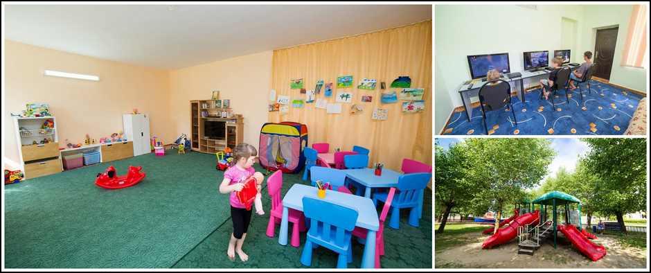 Пансионат Одиссея, Анапа. 11 дней 2 взрослый+ ребенок от 26500.