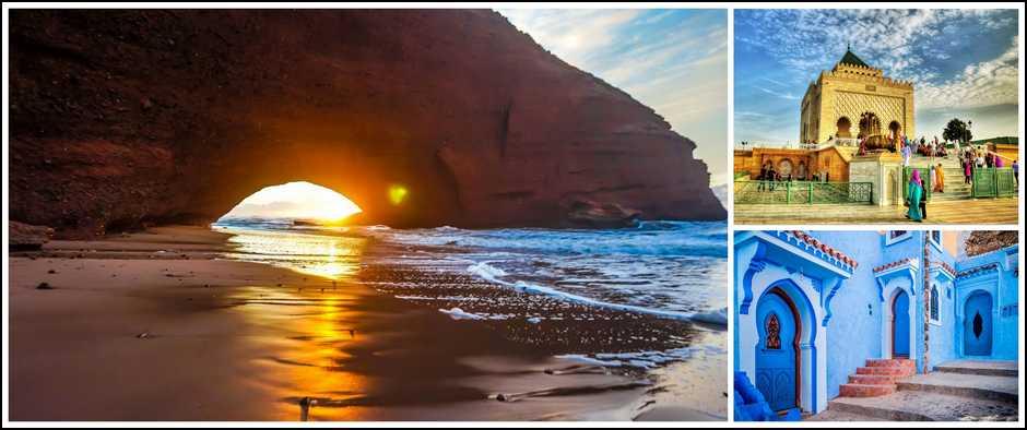 Североафриканская страна-Марокко. 10 ночей от 24800 рублей.