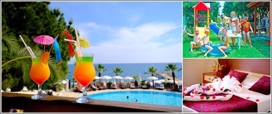 Anitas Hotel 4* - отличный молодёжный отель в Турции: цены от 23 800 рублей!