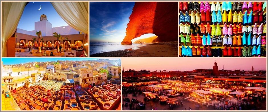 Марокко: Восточный менталитет -туры на 11 дней от 39800 рублей!