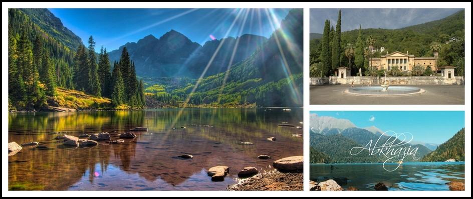 Страна Души-Абхазия. Туры с перелетом 9 дней от 16300 рублей.