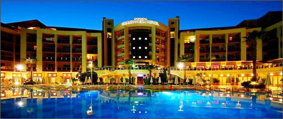 Отель для семейного отдыха в живописном районе Турции, Мармарисе! Туры в Grand Pasa 5* от 26 900 рублей!