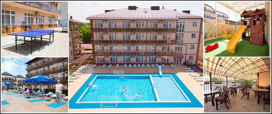 Грандиозное снижение цен в отеле «Гранд Прибой» Анапа.