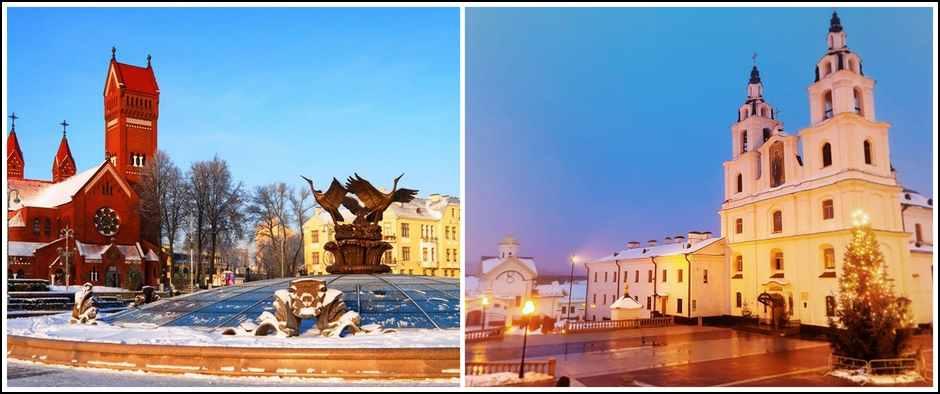 Новый год в Минске. Тур из Кирова в Беларусь, 5 дней, ж/д + автобус.