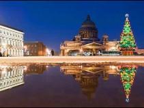 """Экскурсионный тур: """"Встреча Нового года в Северной столице""""."""