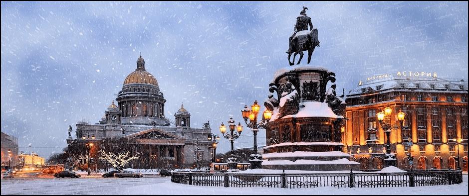 Автобусный тур наНовый год в Санкт-Петербург 7 дней.