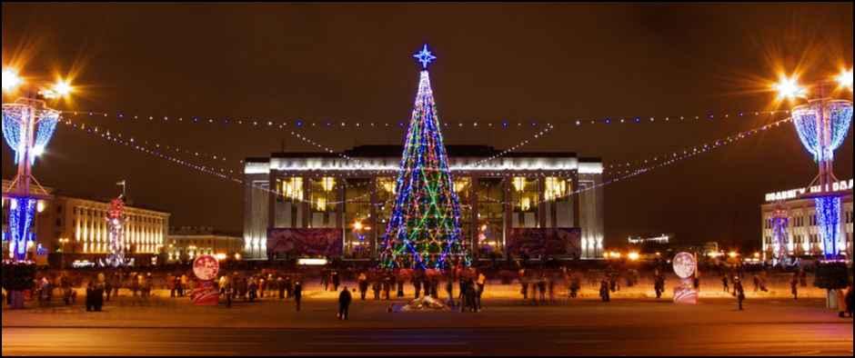 В Беларусь к зубрам, замкам и БелАЗам на новогодние праздники.