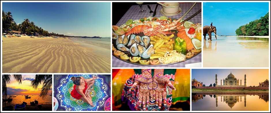Яркое солнце, море и пляж на Гоа-туры от 26800 рублей!
