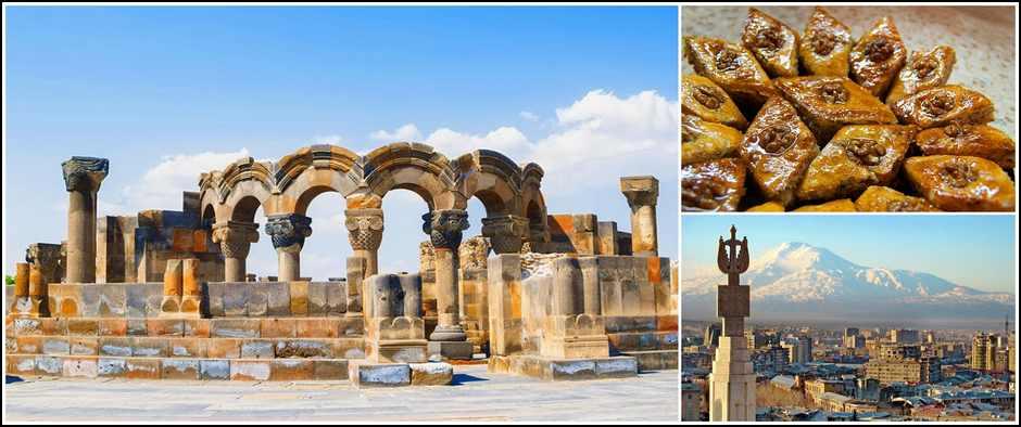 Новый год в Армении! 8 дней с авиаперелетом от 23800 рублей.