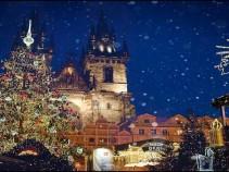 Таинственное средневековье и яркая современность-Новогодняя Прага.Туры на 8 дней от26 000рублей!