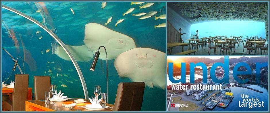 Самый крупный и весьма необычный подводный ресторан откроет свои двери в 2019 году!