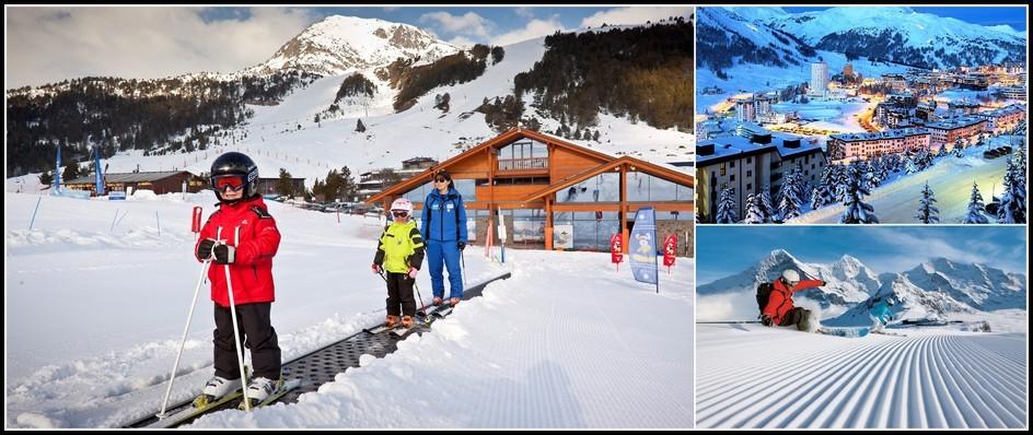 Настоящий зимний отдых.Болгария иАндорра 8 дней от 23500.