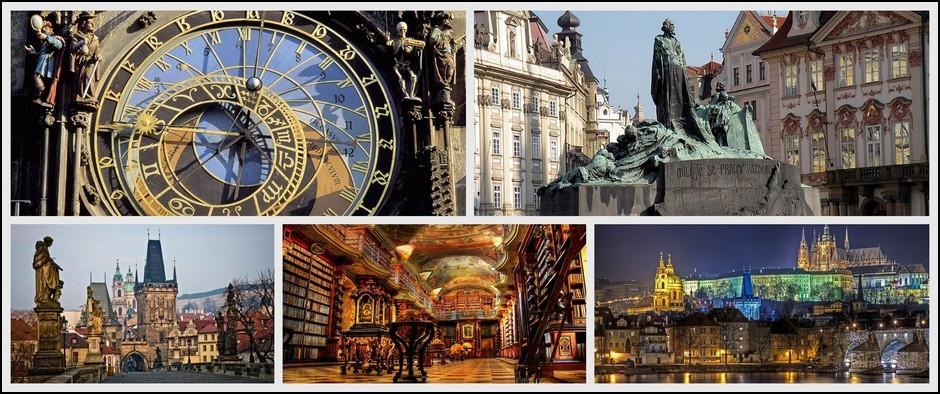 Туры в город, окутанный тайнами и легендами-Чехия. 8 дней от 31300.