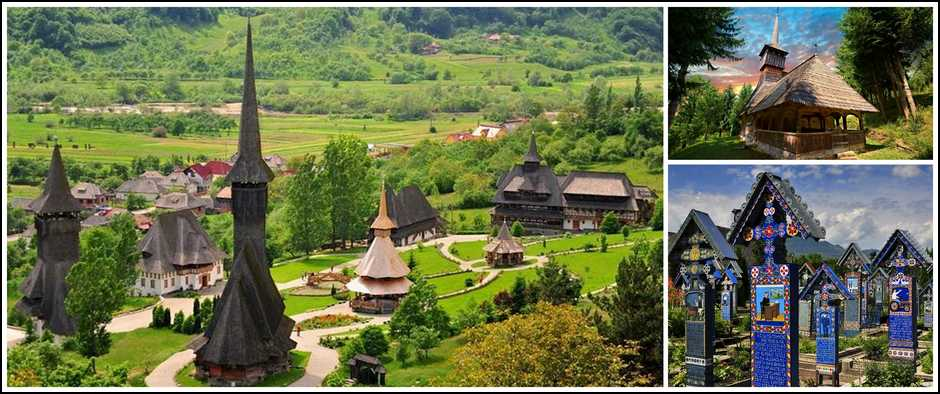 Гранд тур по Румынии - 9 дней с авиаперелетом.