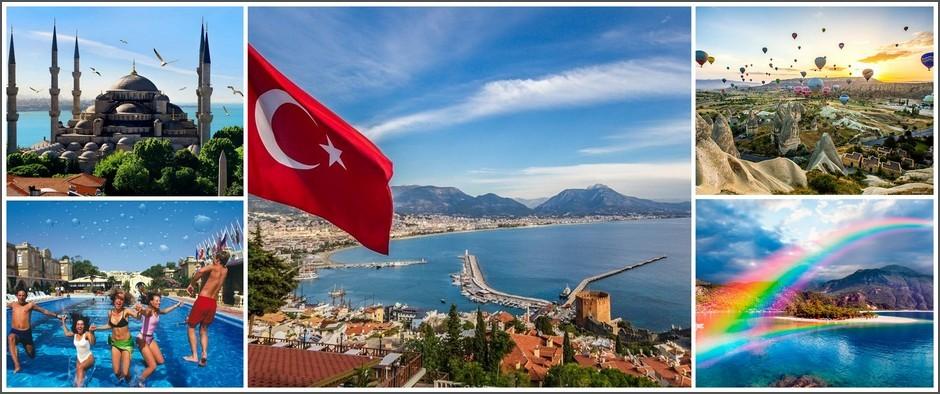 Турция вылет из Казани, 13.08.2019 8 дней от 28800 рублей.