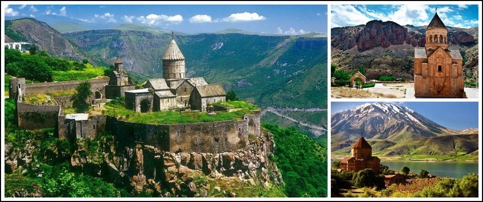 """Экскурсионный тур """"Эврика! Дары Армении"""". 9 дней от 29300 рублей."""