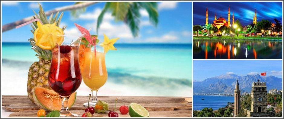 Для любителей пляжного отдыха: Турция в августе 9 дней от 24900.