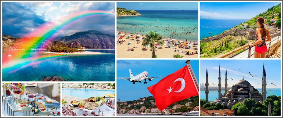 Для любителей моря – Турция на «все включено»: 8 ночей от 25 000.