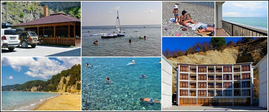 Пансионат «Арбика». Лучшее море в Абхазии здесь. Цены от950.