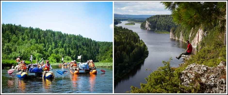 Сплав по реке Вишера(Пермский край, ж/д + автобус, 3 дня).