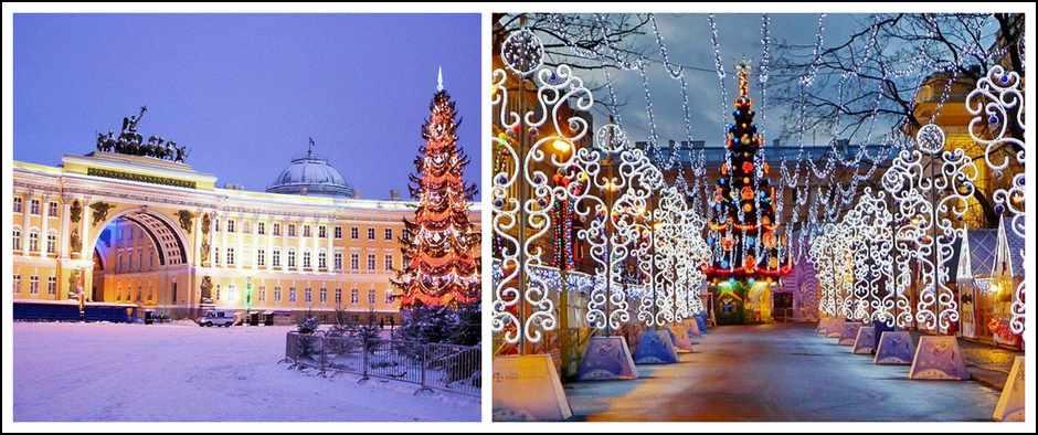 «Встреча Нового года в северной столице»(7 дней, автобус).