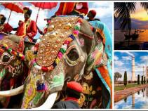 Путешествие в страну контрастов! Индия на 10 дней от 44 800 рублей.