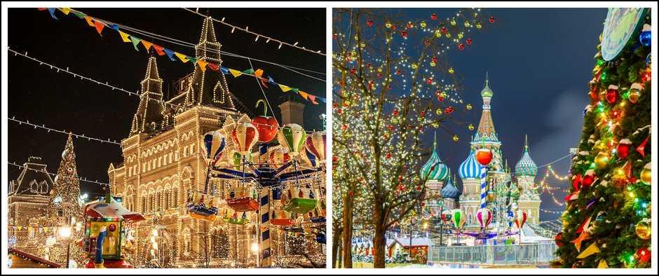 Новый год в Рязани (Рязань + Москва, 3 дня, автобус).