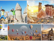 Экскурсионный тур на Новогодние праздники: Каппадокия – Золотое кольцо Турции (8 дней/ 7 ночей)