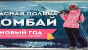 Новый год на горных лыжах от 8000 рублей.
