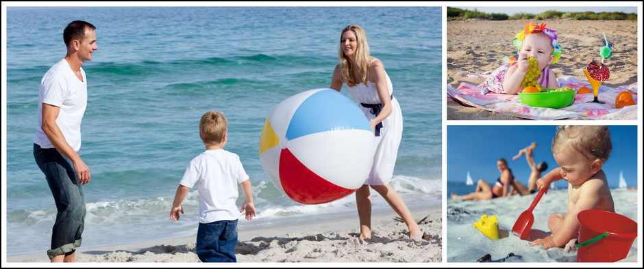 На море с ребенком. Как сделать так, чтобы все остались довольны.
