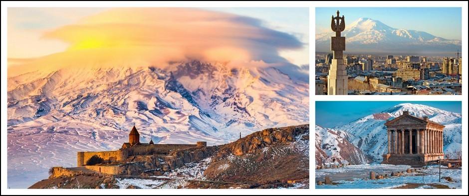 Новый год в Армении. Вылет 28.12.2019, 7 ночей от 26800 рублей.