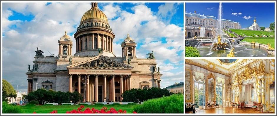 «Классический Петербург» (5 дней в Санкт-Петербурге, ж/д)