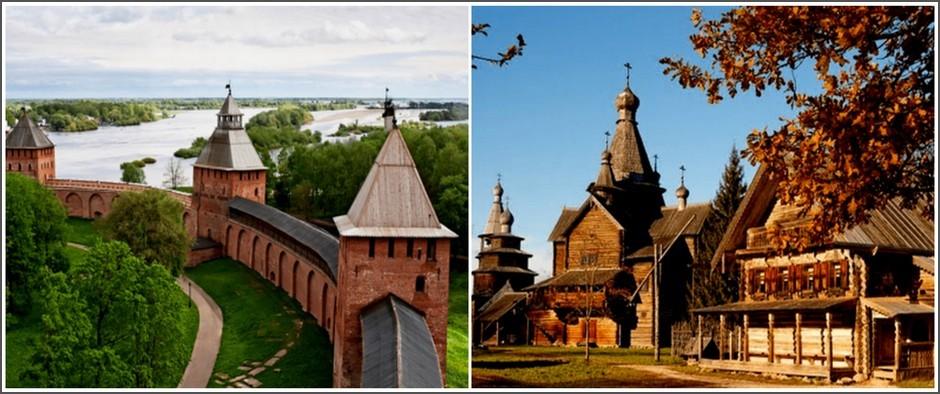 В. Новгород + Псков (3 дня, ж/д+автобус)