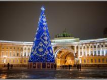 """КЭШБЭК. """"Встреча Нового года в Северной столице"""", 3 дня-от 7700 рублей."""