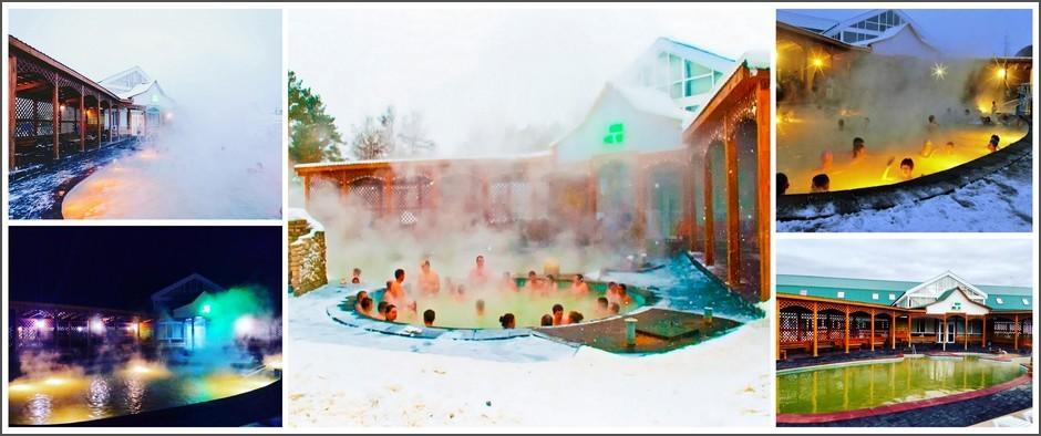 Лучшие горячие источники с отелями в Тюмени.