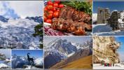 """Экскурсионный тур """"Новый Год в горах Осетии"""" от 15800 рублей."""