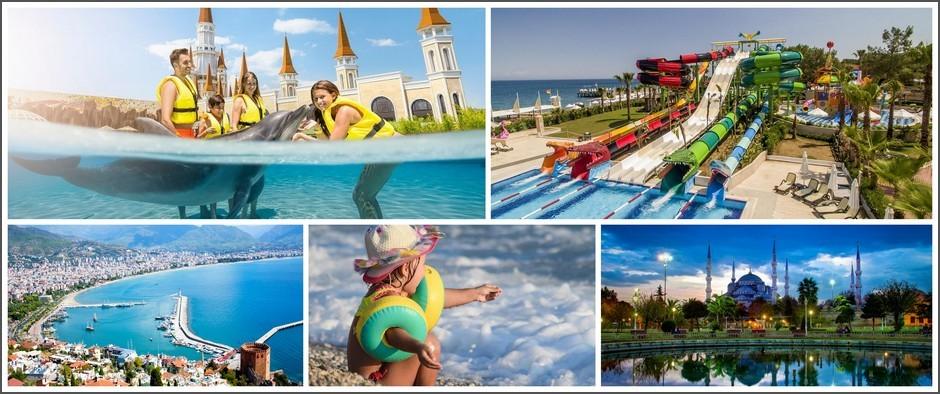 Для любителей моря — Турция: 13.08 на 11 дней от 22400 рублей!